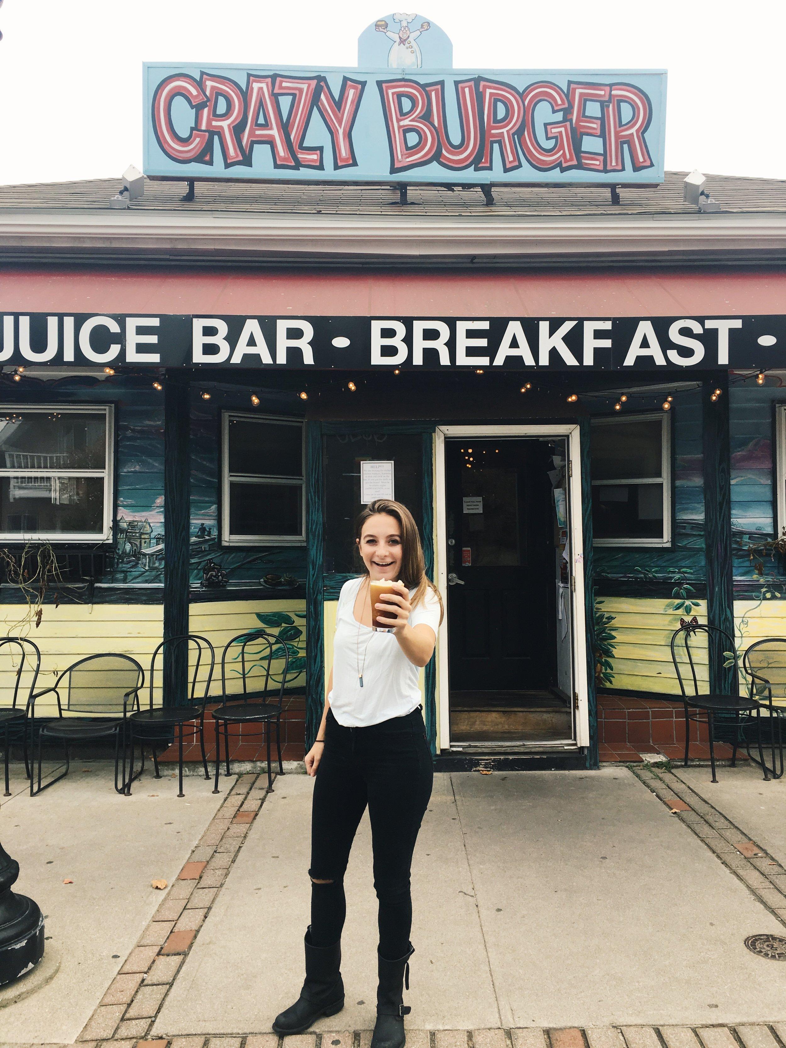 Crazy Burger, Narragansett, RI