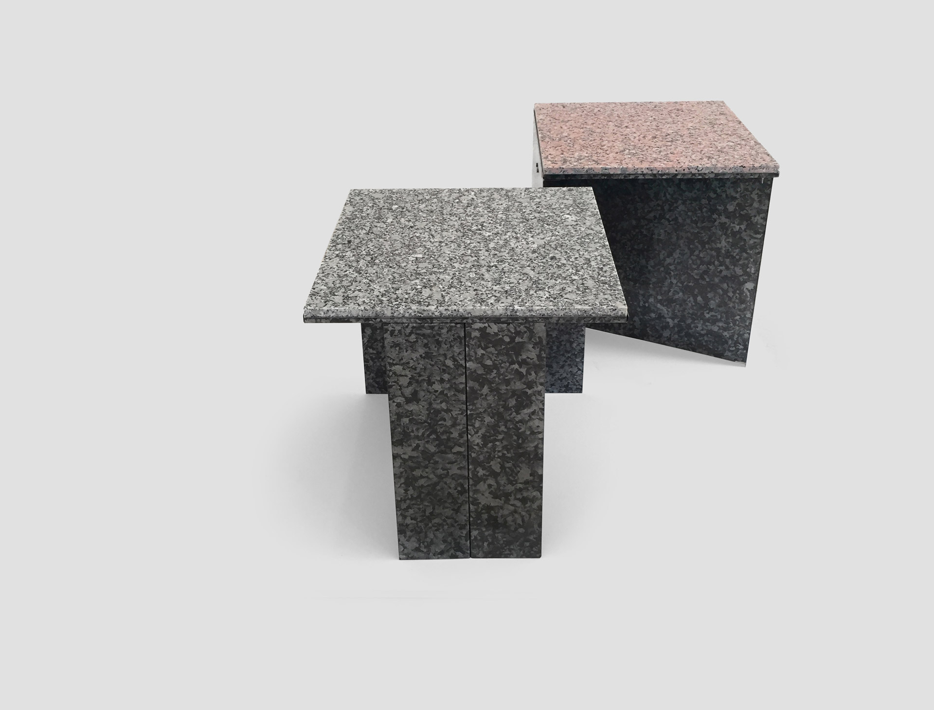 Tino Seubert Regalvanize & Granite Tables