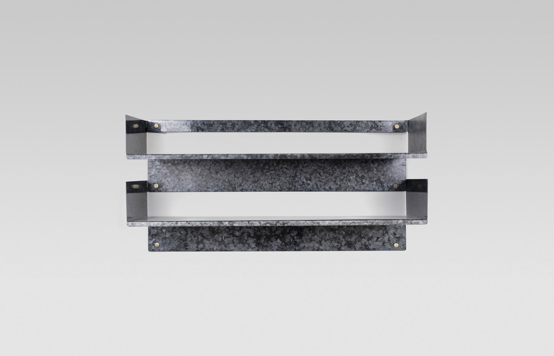 Tino Seubert - Regalvanize - Folded Shelves