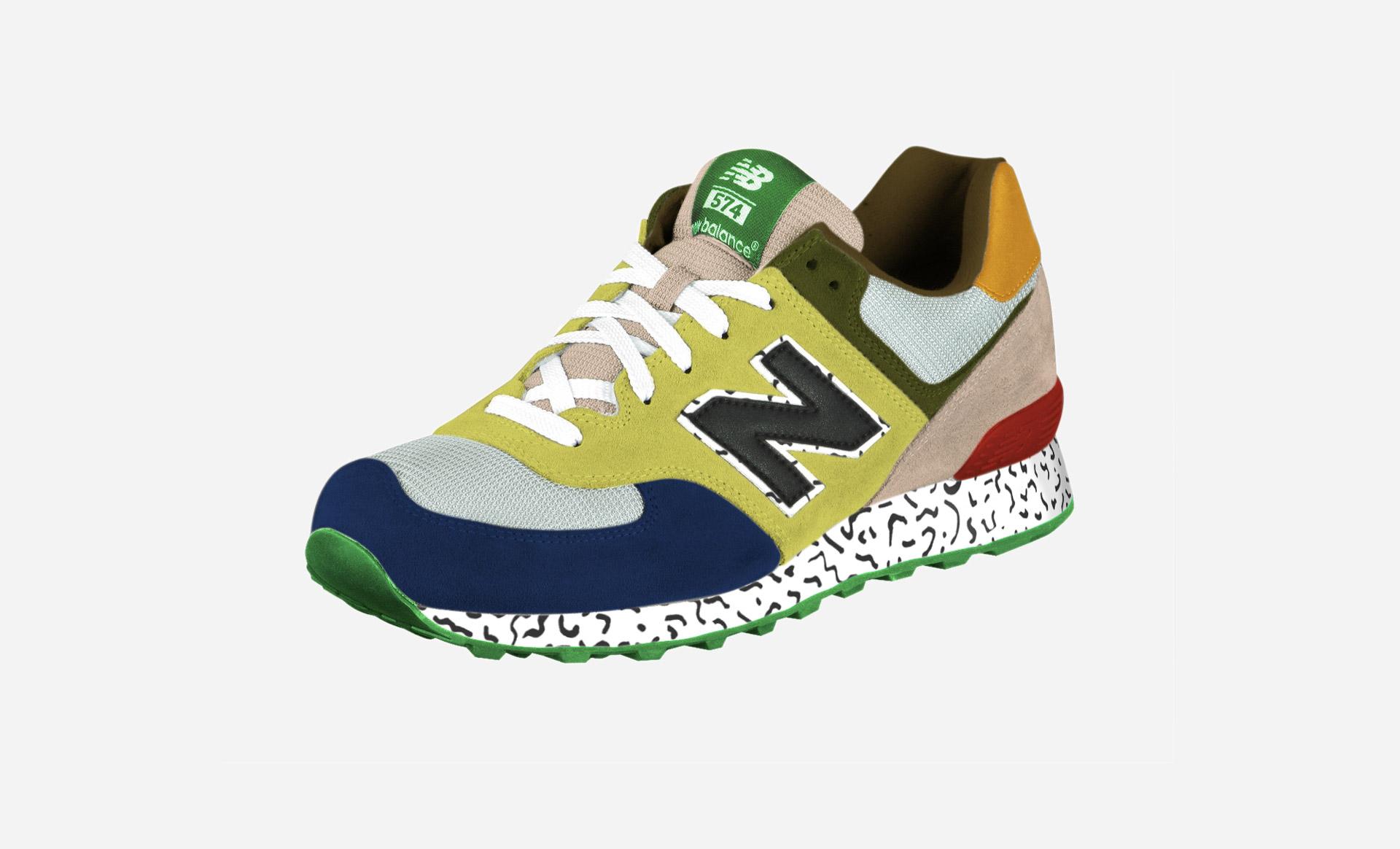 Tino Seubert - Ettore Sottsass Sneaker - New Balance