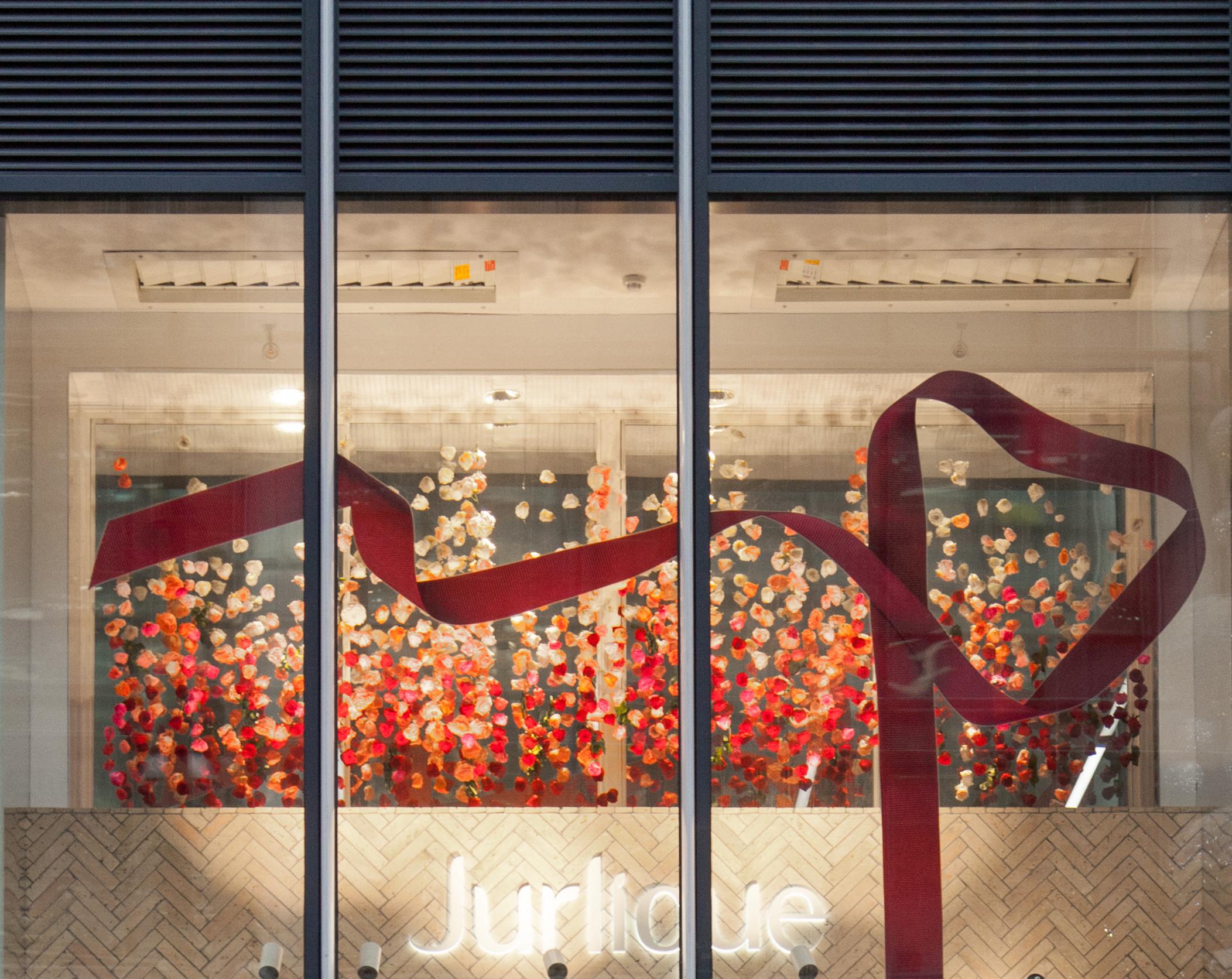 Jurlique Christmas Window