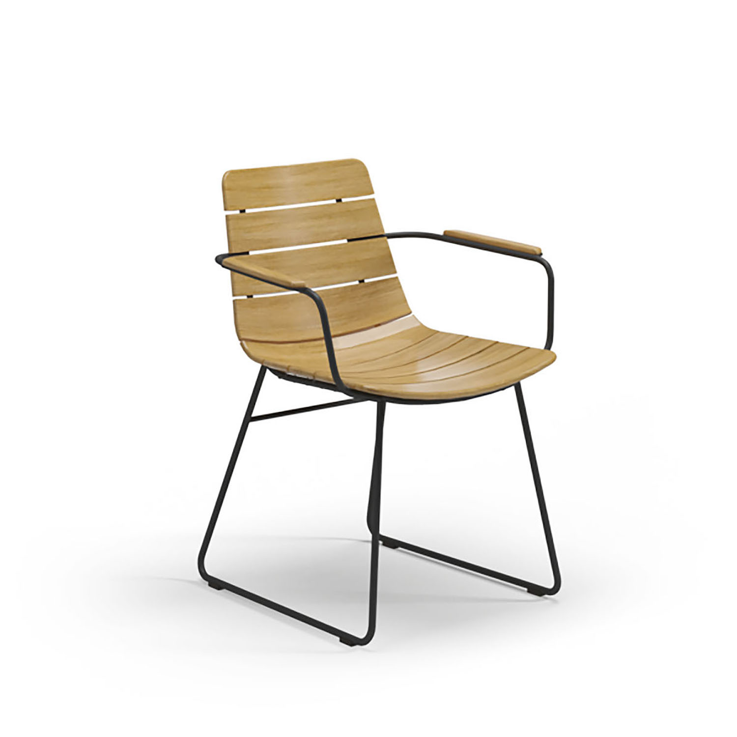 Gloster WILLIAM Dining Chair With Arms