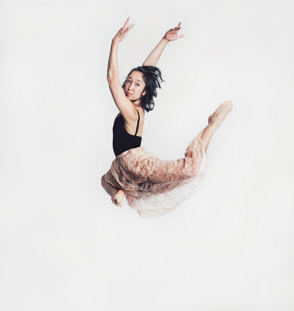 Dancer and choreographer Ayako Shapiro