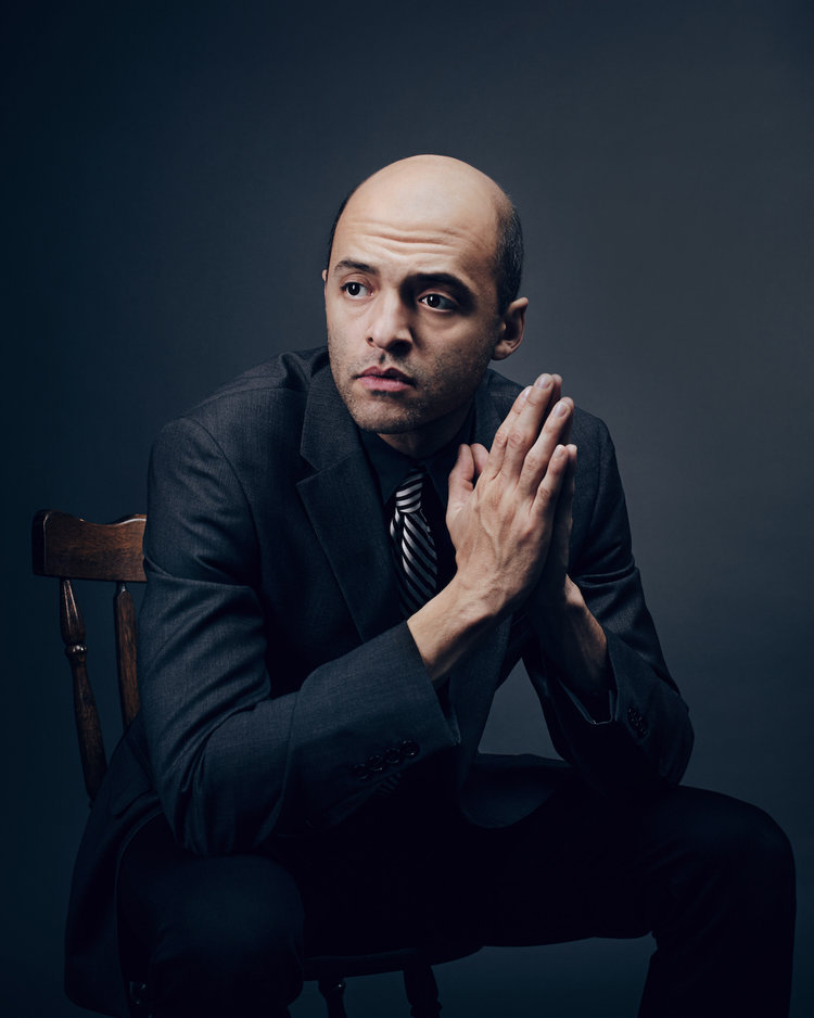 Actor and playwright Brandon J. Simmons
