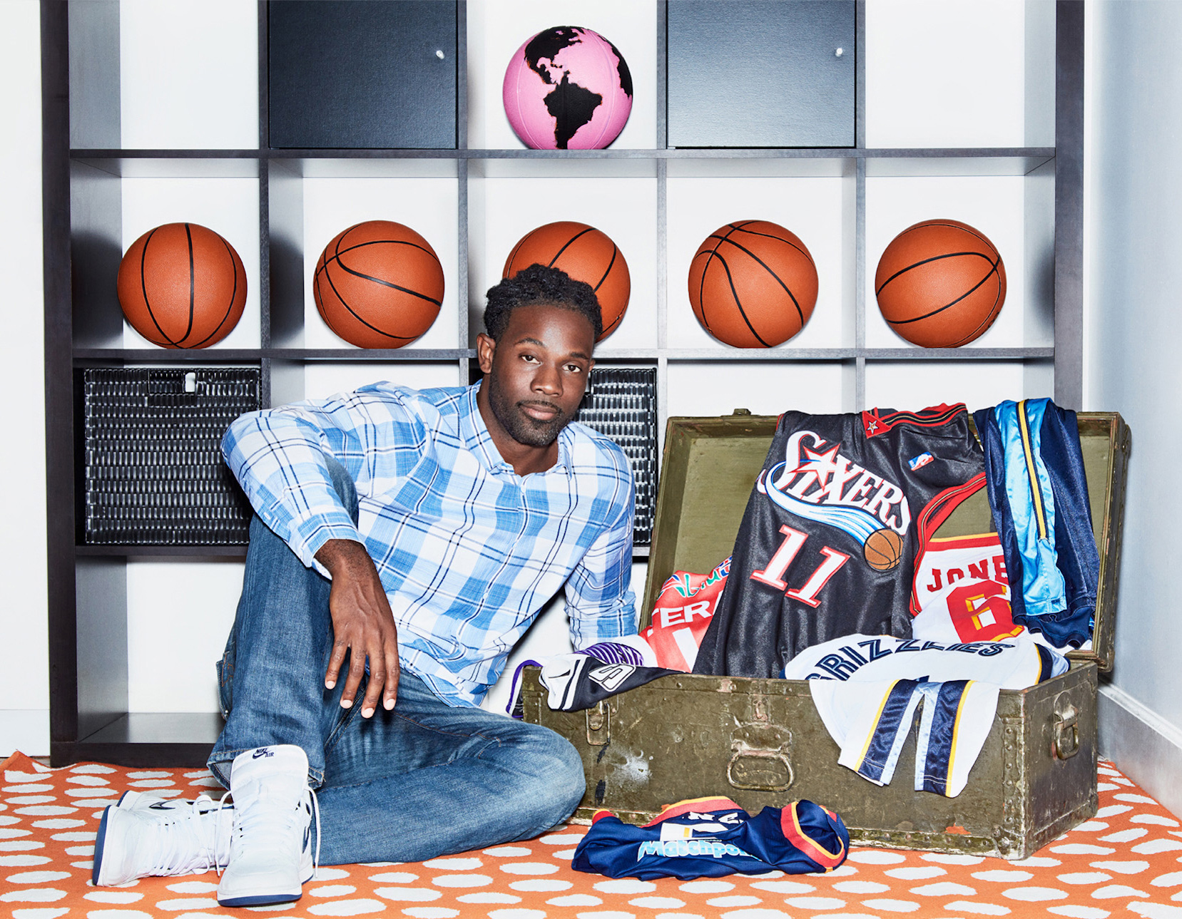 Professional basketball player Bobby Jones, Jr.