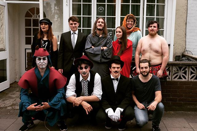 Monster family pic 🎪🧟♂️ A real blast working with this people 🎥 . . . . . #templeoftime #musicvideo #cast #makeup #music #uk #london #party #psychedelic #fun #outnow