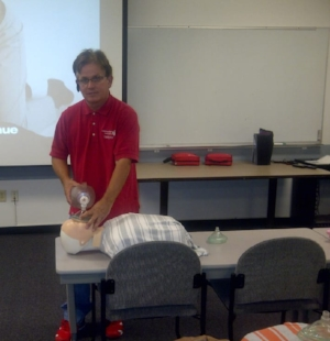 Larry has been teaching CPR for over 26 years for the American Heart Association. He has been rated for the last two years as the best CPR trainer in the valley from the Phoenix Businesses.