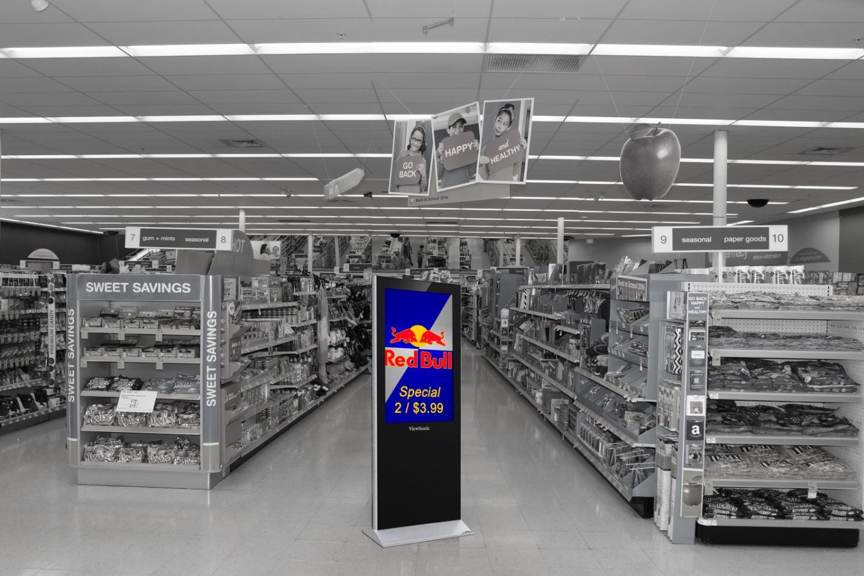 floor kiosk digital marketing