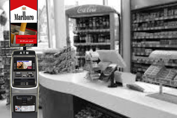 digital atm toppers with dynamic advertising