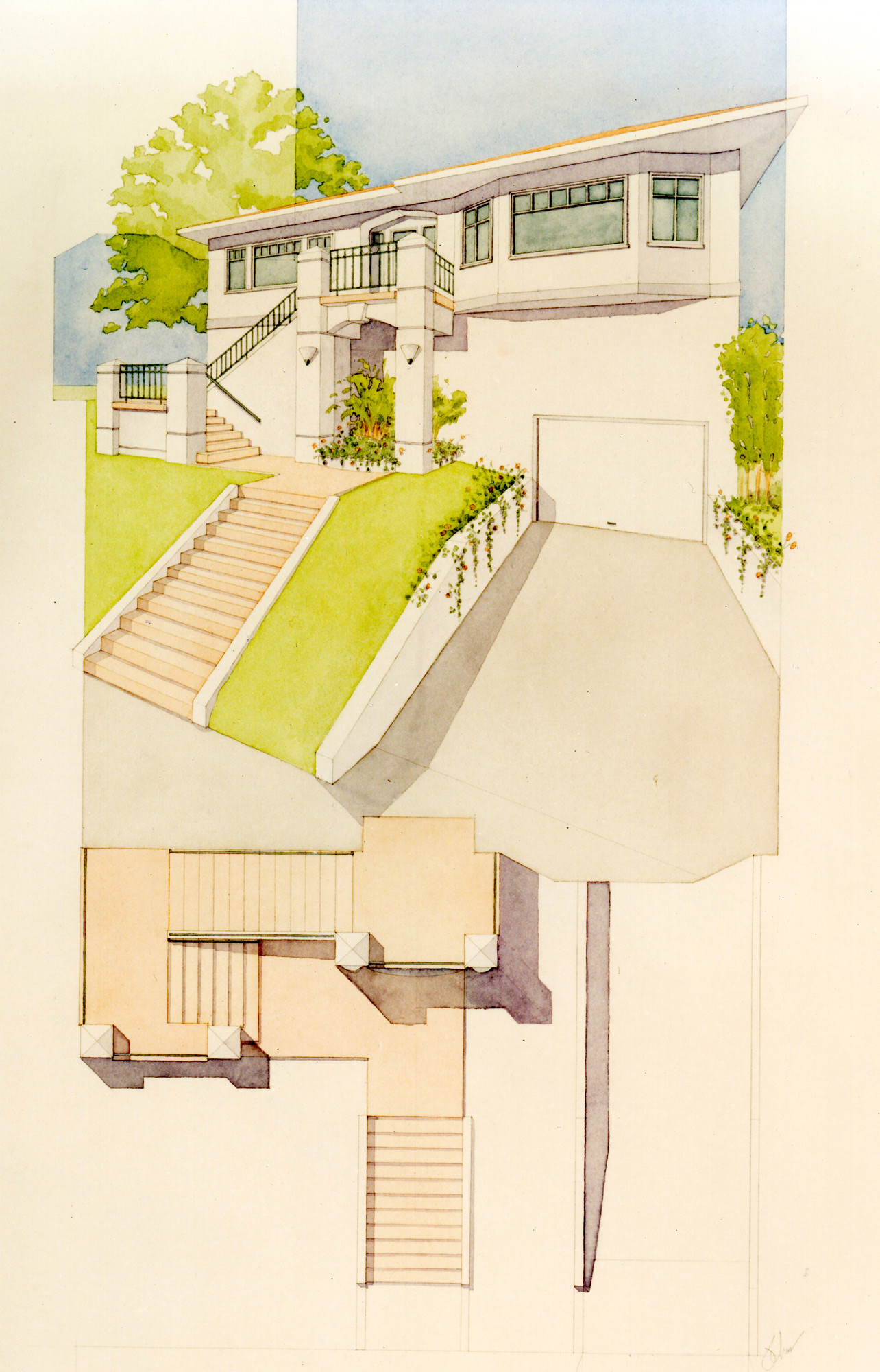 Rendering of Mandana front stair project.jpg
