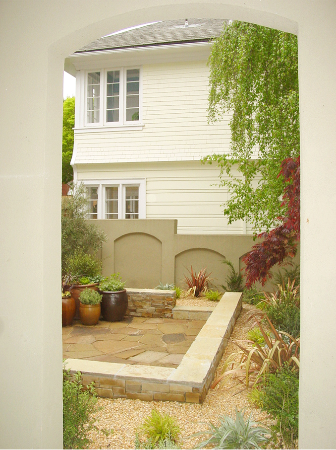 rear garden walls and planting.jpg