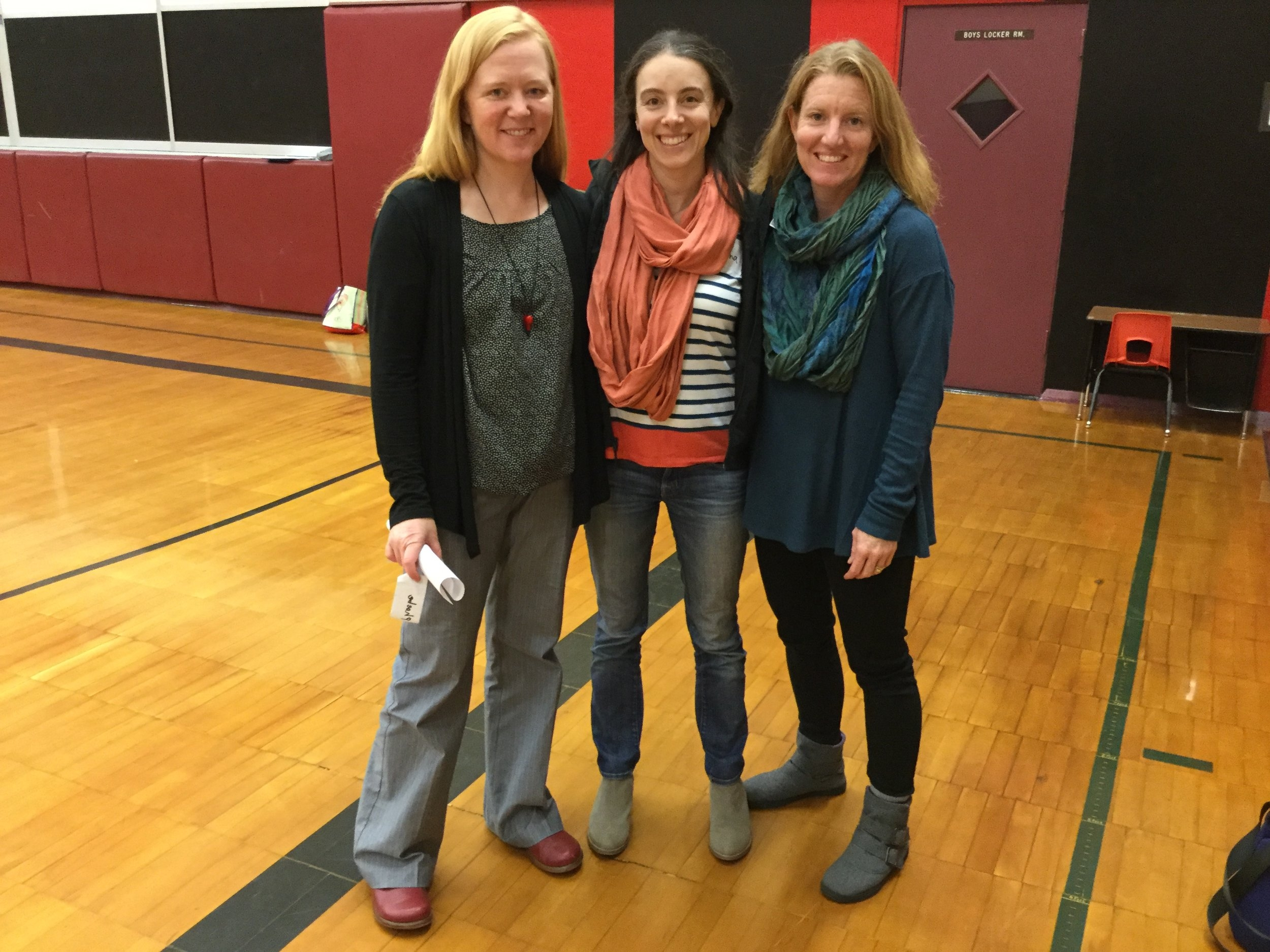 Learn to implement the 9 Essentials for accessing brain plasticity - The team after our Parent Workshop in Clatskanie.
