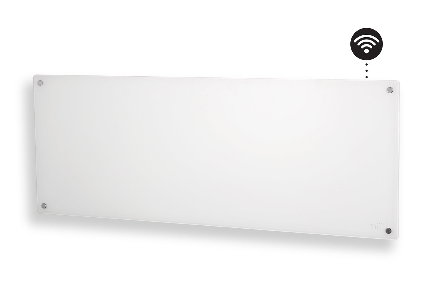 Mill AV1200 wifi heater side view