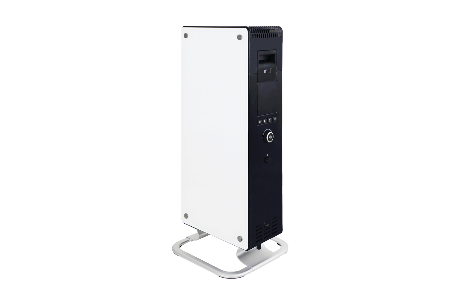 Mill AB-H1000DN Glass oil heater front view