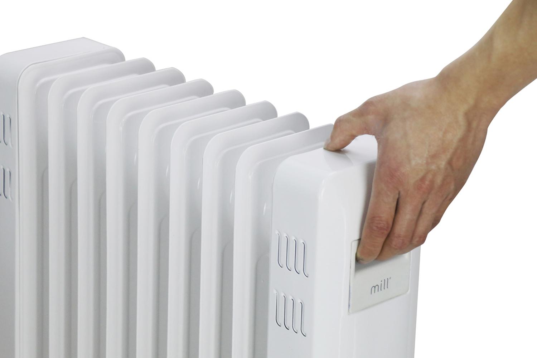 Mill JA2000 traditional oil heater handler