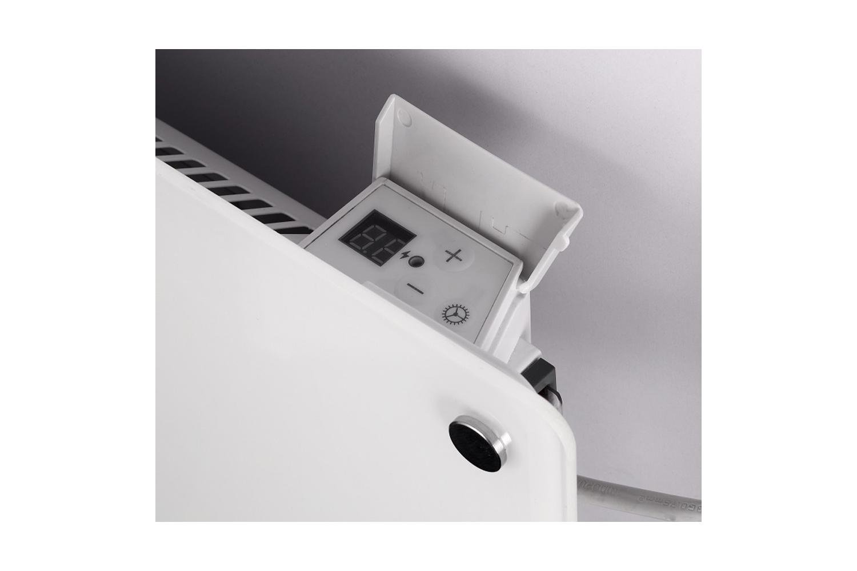 Mill MB300 glass heater controls
