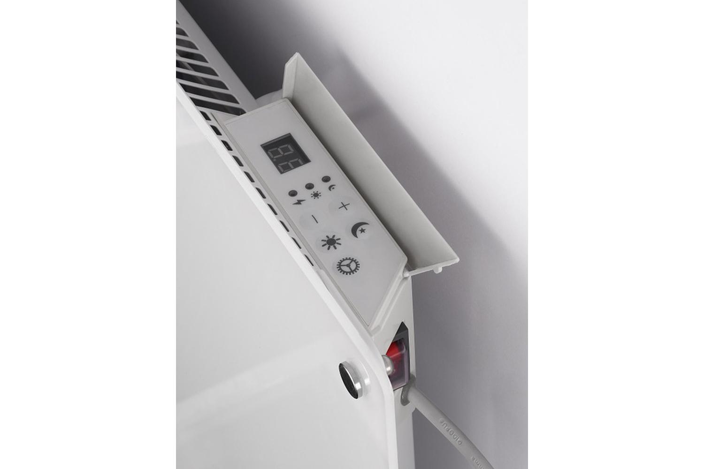 Mill MB900 glass heater controls