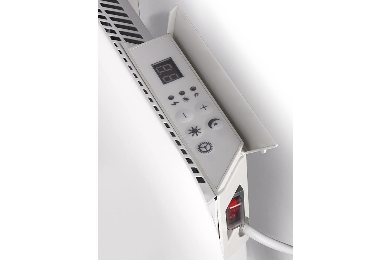 Mill IB600 steel heater controls