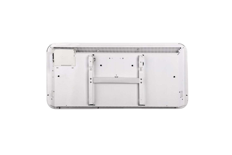 Mill IB600 steel heater back view