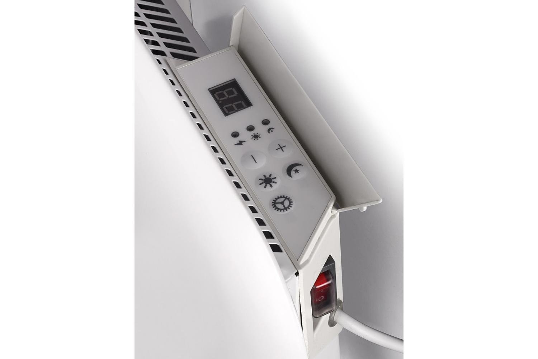 Mill IB1200 steel heater controls