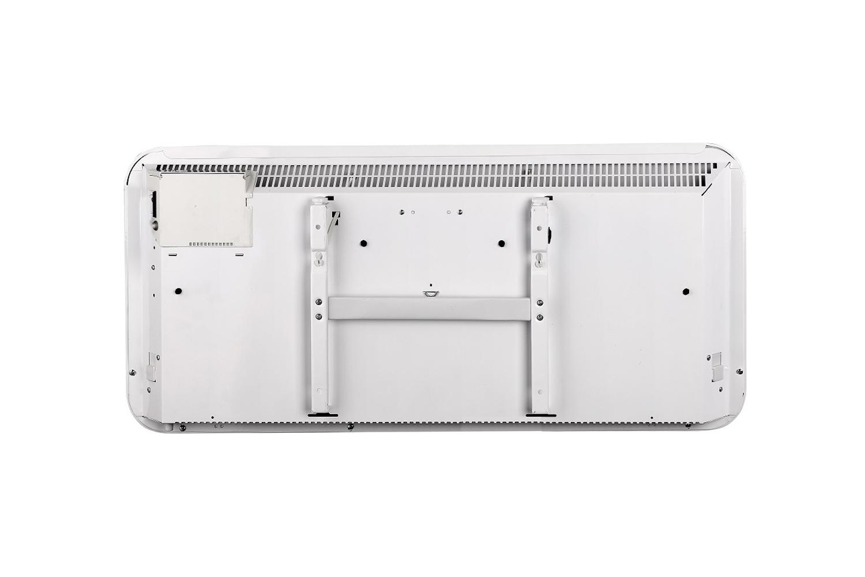 Mill IB1200 steel heater back view