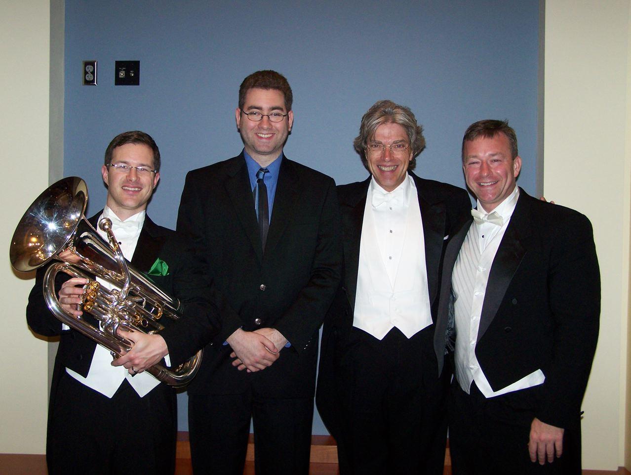 Adam Frey, Christopher Tucker, Jack Delaney, and Scott Stewart