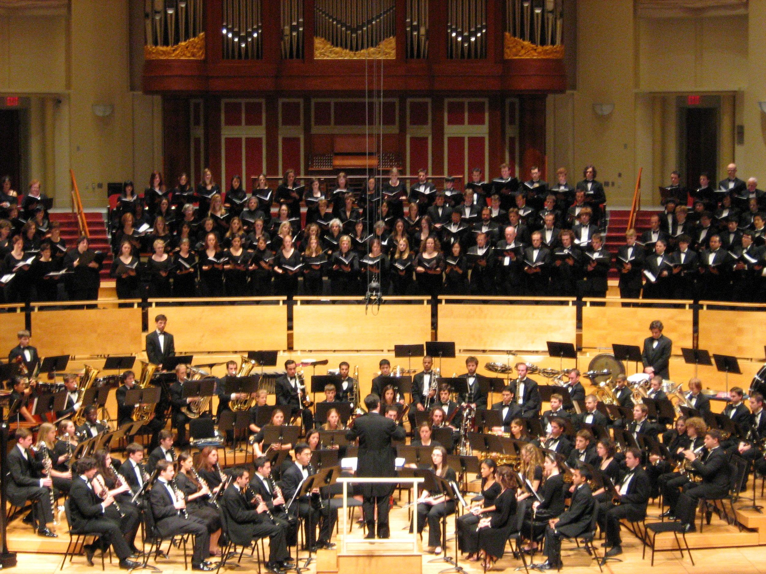 with University Chorus.JPG