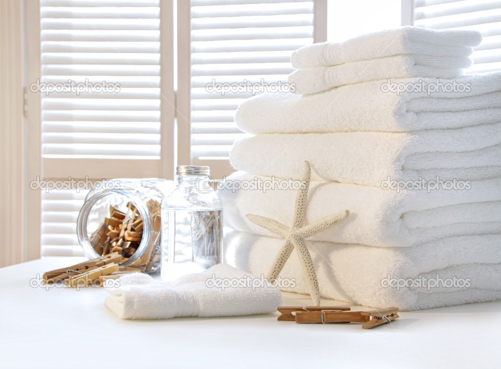 Plush Bath Towels