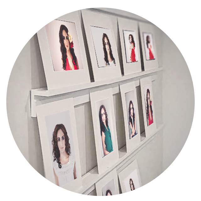 Portrait Reveal and Ordering Session -