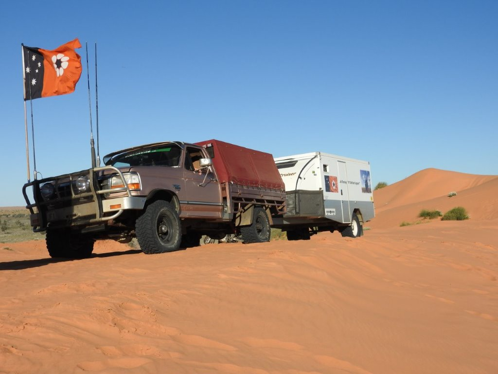 En-route in the Northern Simpson Desert