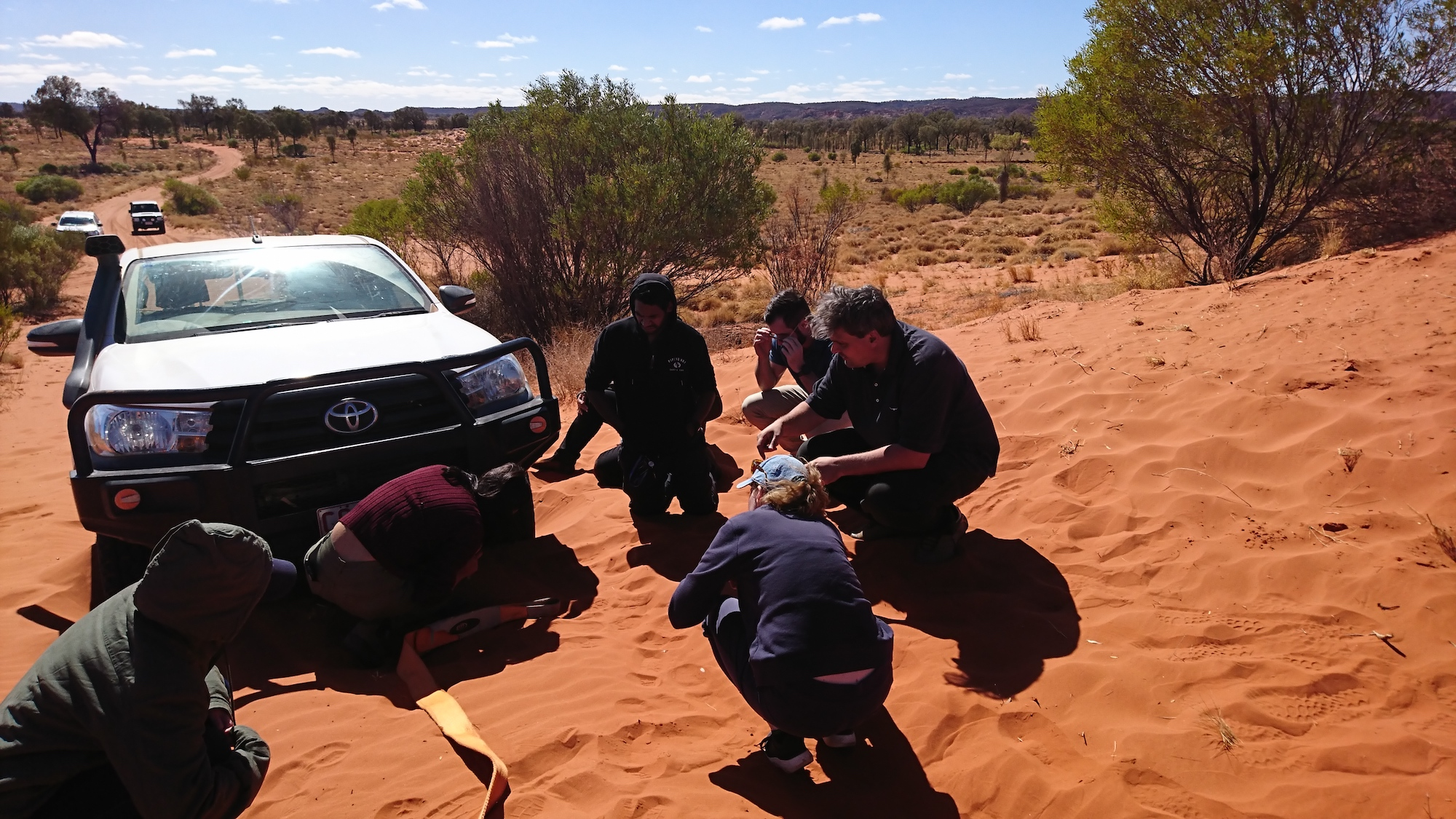 Get hands on training to keep your vehicle moving in the bush