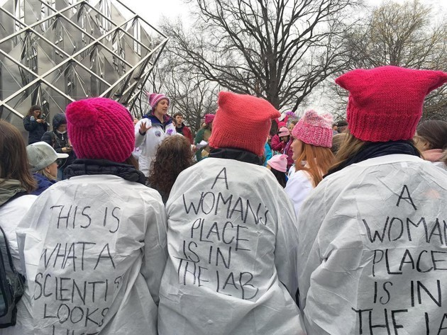 The Atlantic,  The Women Scientists Standing Up to Trump , 24 January 2017