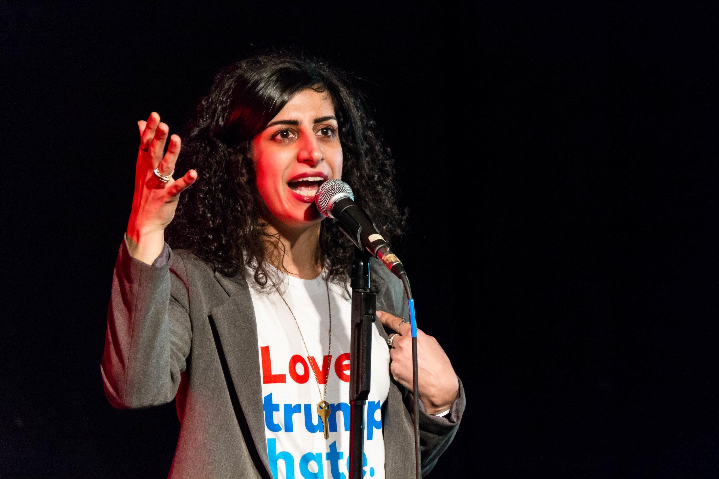 Meet Maryam Zaringhalam. Photo by   Nicholas Santasier.