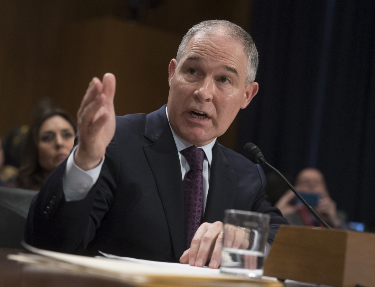 The Seattle Times,  As EPA head, Scott Pruitt must act on climate change , 20 February 2017