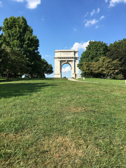 Also Valley Forge National Historic Park, National Memorial Arch commemorating the arrival of General Washington and the revolutionary army to Valley Forge