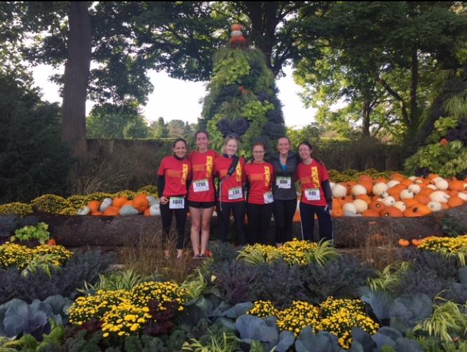 "We ""Ran for Trees"" at the Morton Arboretum last Fall."