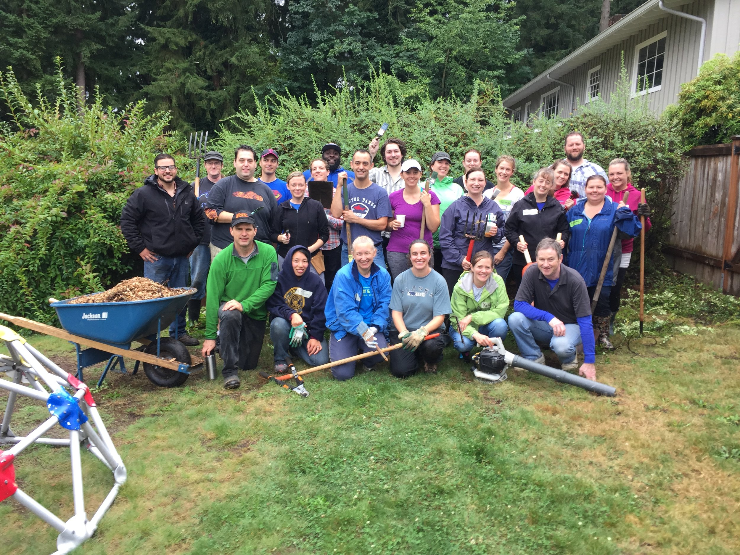 Fall 2016 Work Party