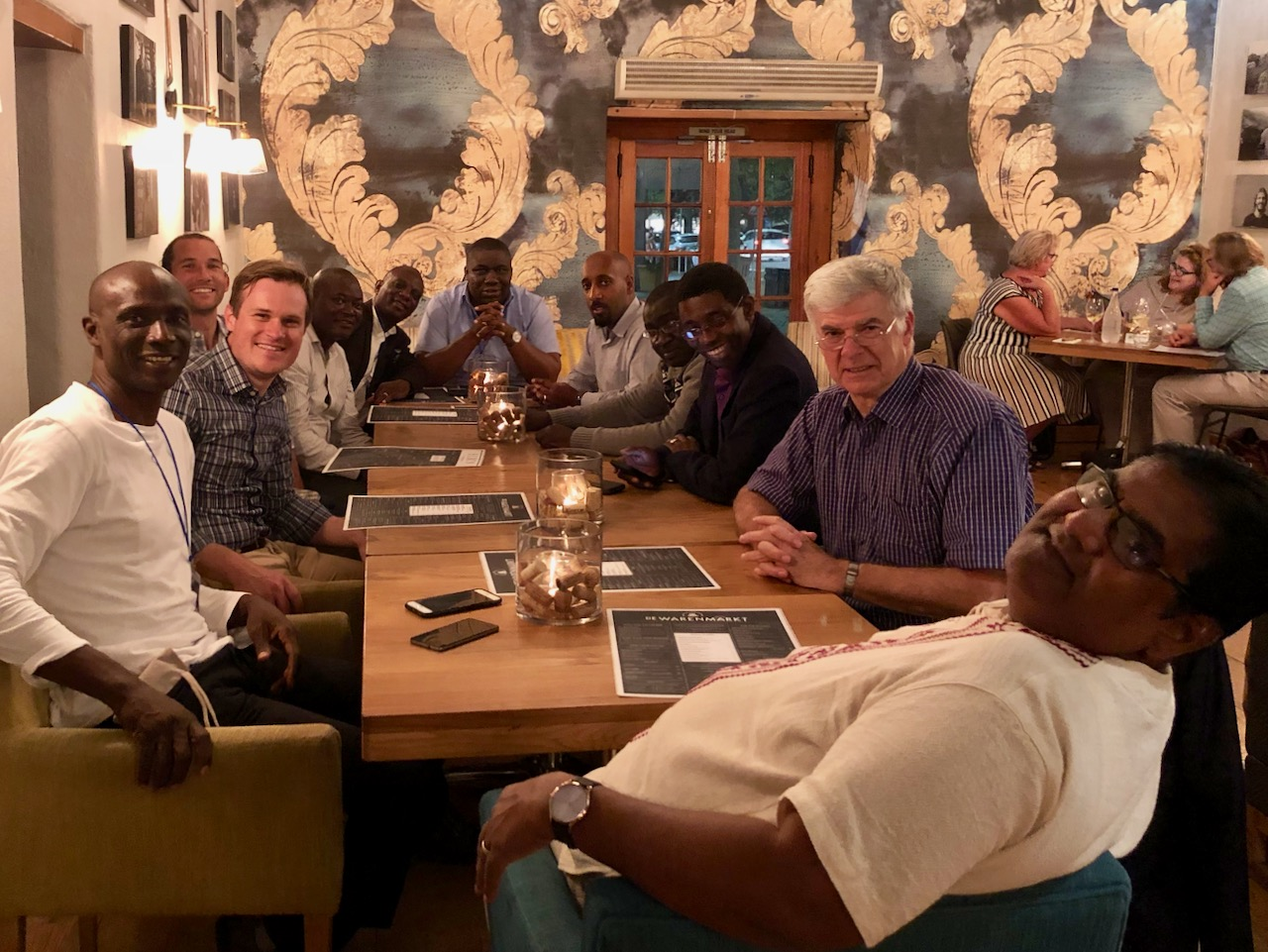PhD Program - East Mountain hosted Christian leaders from 15 different countries spanning 5 continents, encouraging them in their ministry and work.