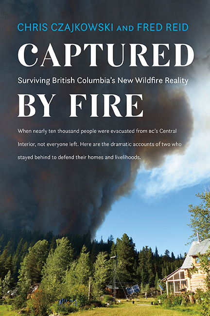 Captured By Fire Cover