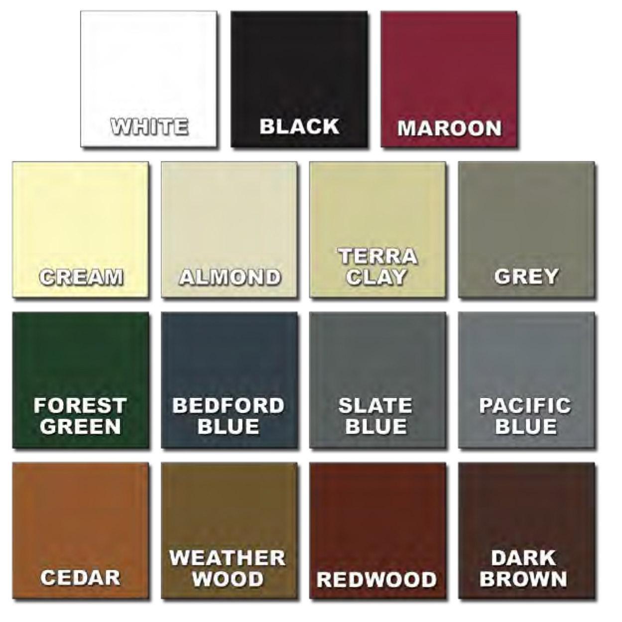 Shutter Color Guide