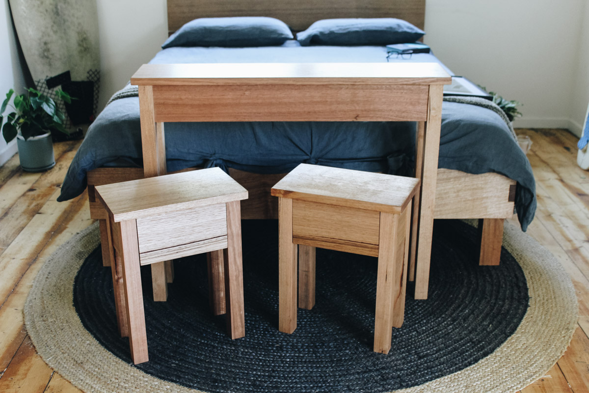 al and imo square suite custom made furntire bed bedside table side table recycled timber australia.jpg.jpg