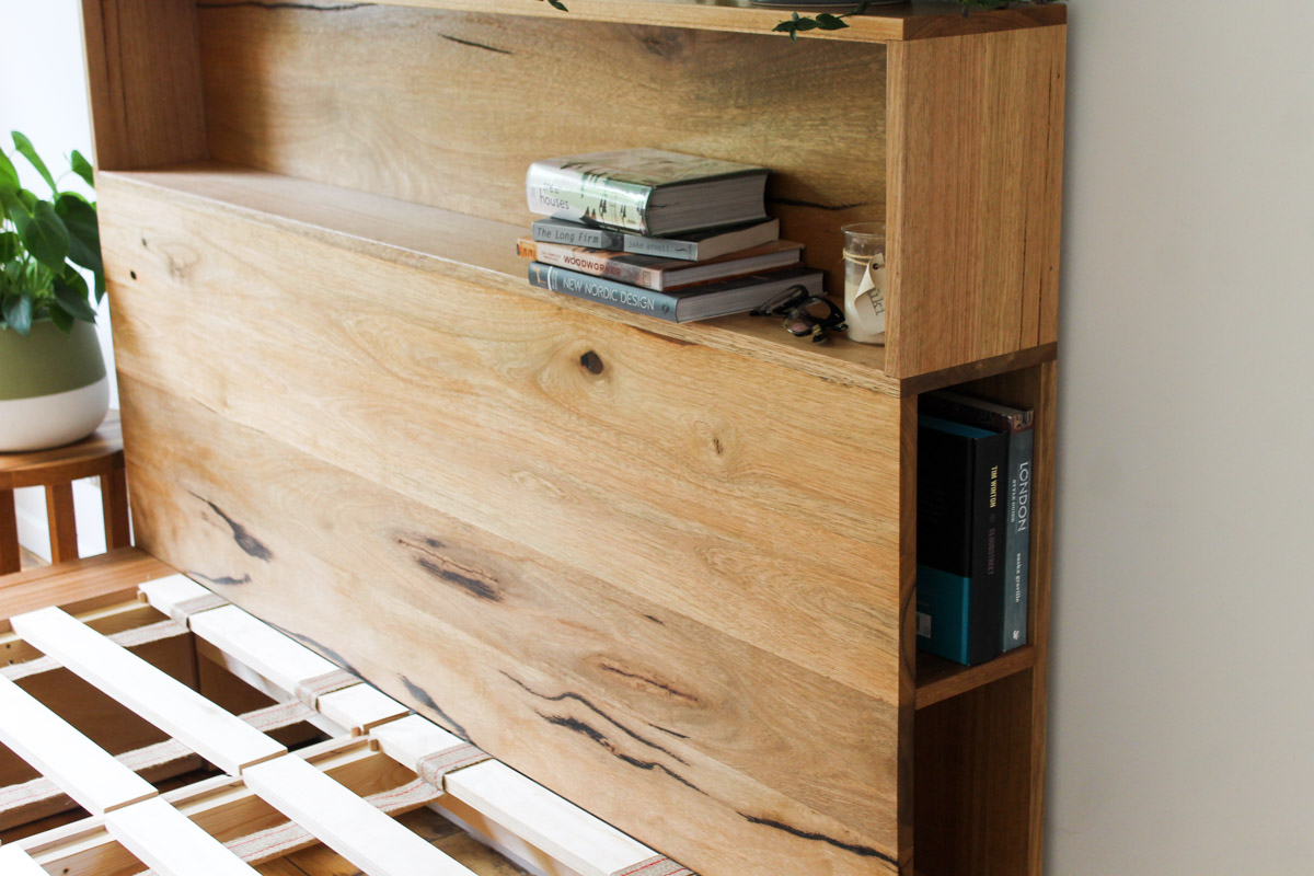 al and imo handmade timber platform bed frame with bookshelf bed head (22 of 25).jpg