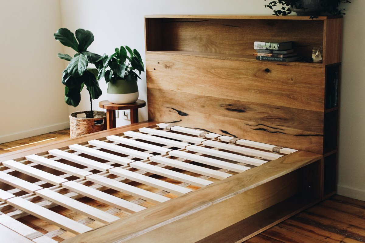 al and imo handmade timber platform bed frame with bookshelf bed head (19 of 25).jpg