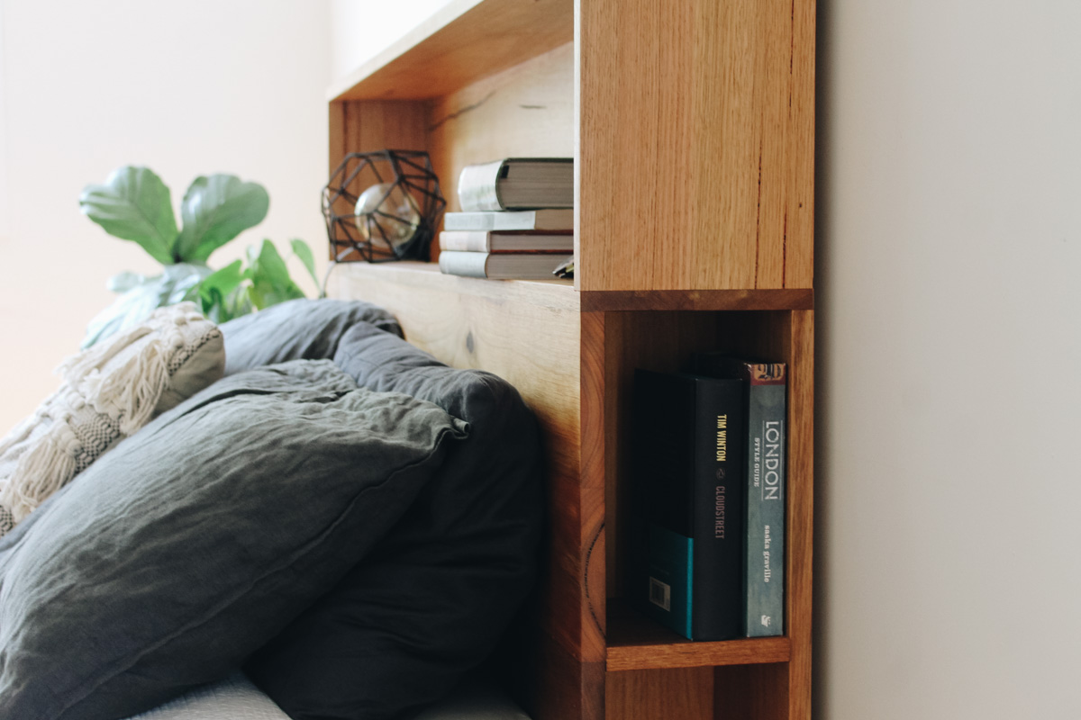 al and imo handmade timber platform bed frame with bookshelf bed head (7 of 25).jpg