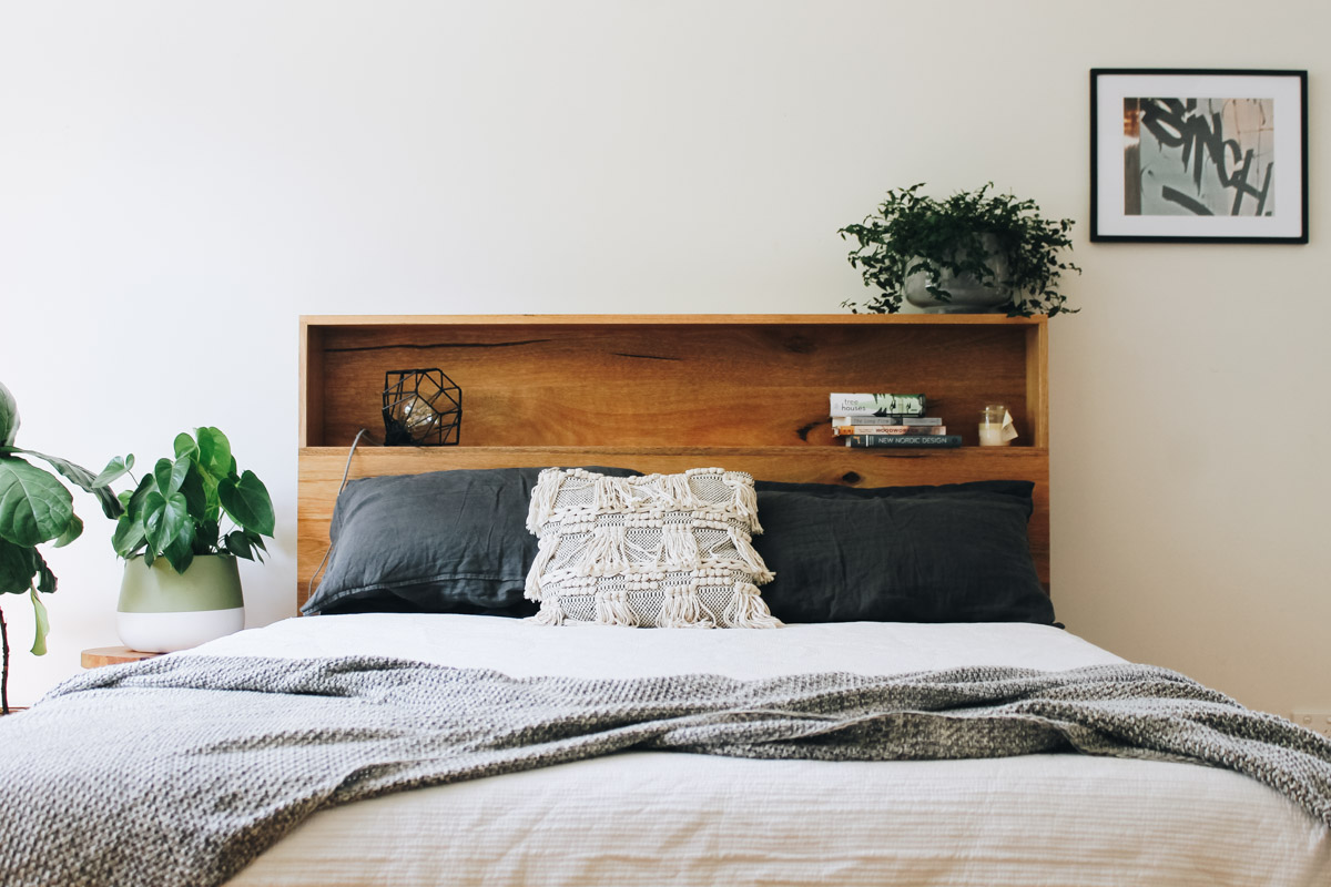 al and imo handmade timber platform bed frame with bookshelf bed head (3 of 25).jpg