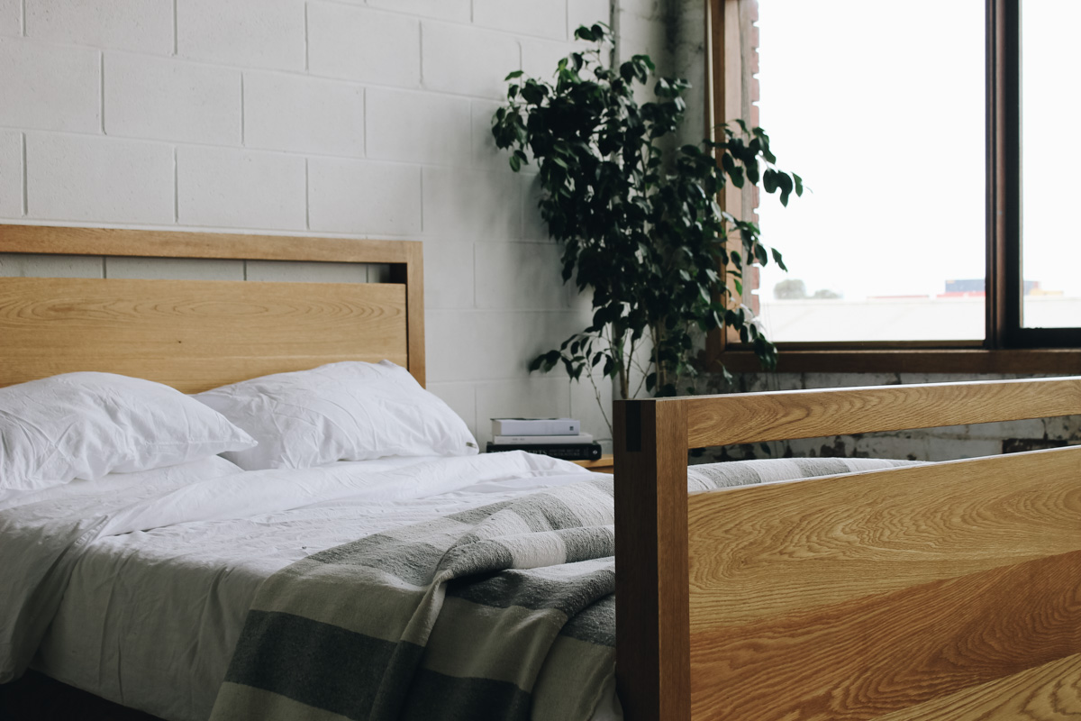AL and Imo Handmade - Tall Scandi - custom American Oak timber bedframe - Surf Coast - Melbourne - Victoria - Australia-7.jpg