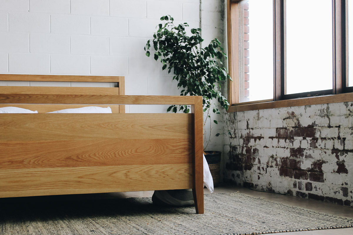 AL and Imo Handmade - Tall Scandi - custom American Oak timber bedframe - Surf Coast - Melbourne - Victoria - Australia-12.jpg