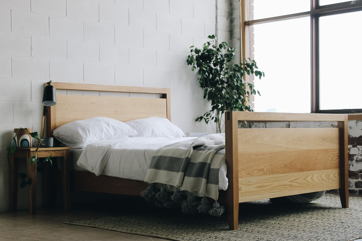 AL and Imo Handmade - Tall Scandi - custom American Oak timber bedframe - Surf Coast - Melbourne - Victoria - Australia-13.jpg