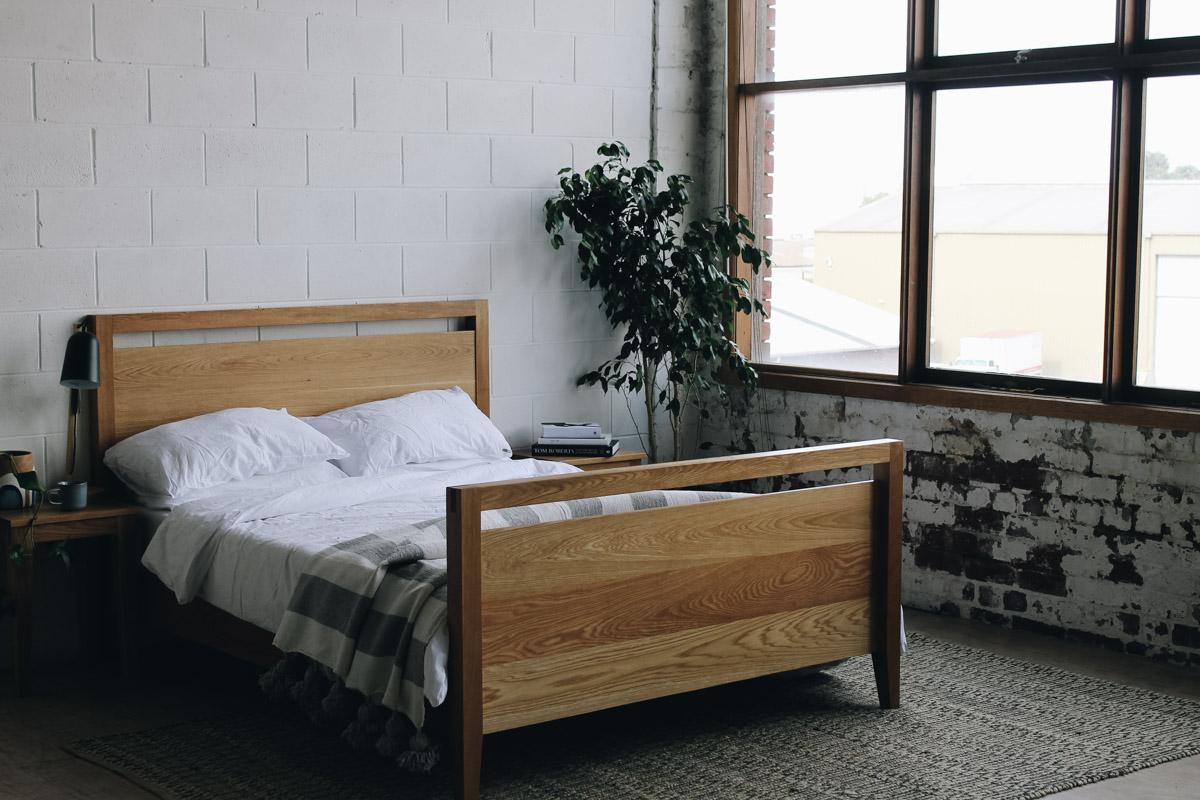 AL and Imo Handmade - Tall Scandi - custom American Oak timber bedframe - Surf Coast - Melbourne - Victoria - Australia-24.jpg