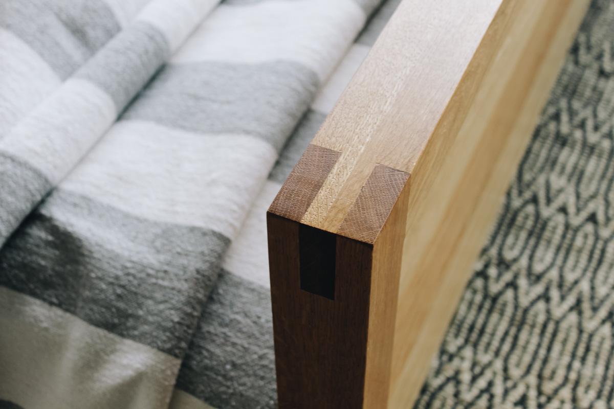 AL and Imo Handmade - Tall Scandi - custom American Oak timber bedframe - Surf Coast - Melbourne - Victoria - Australia-54.jpg